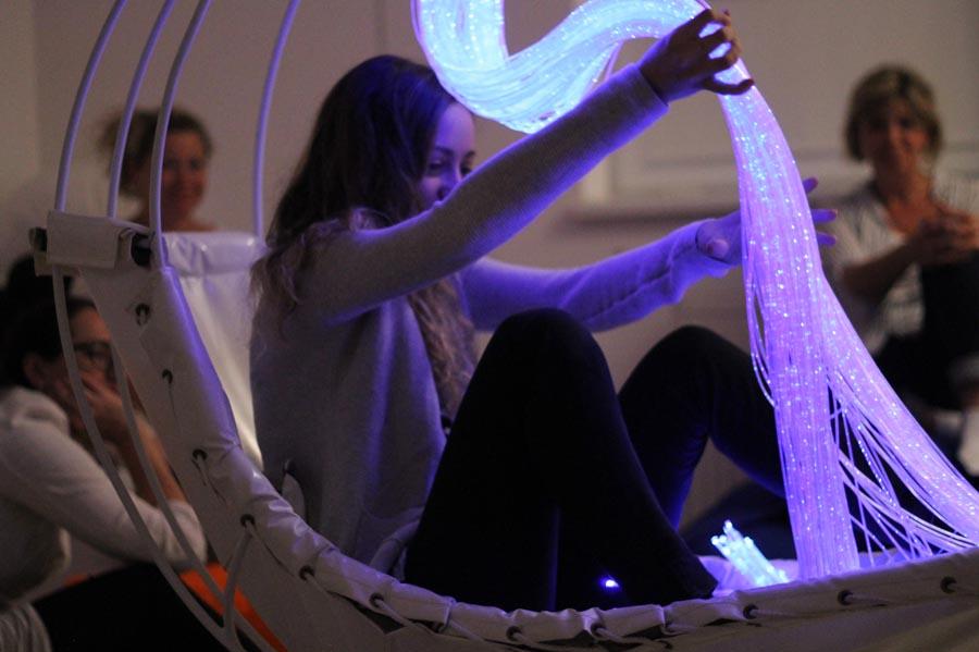 Školenie Snoezelen - optické vlákna