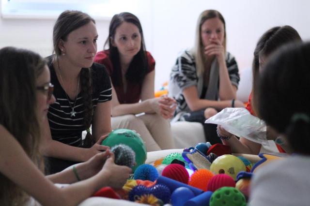 Školenie Snoezlen práca v multisenzorickej miestnosti