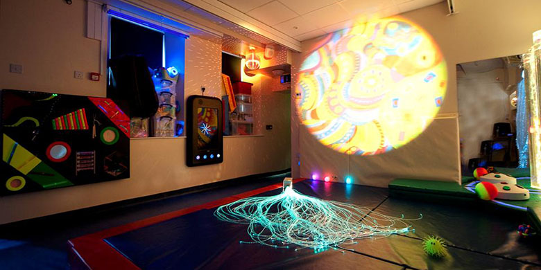 potesenie radost a hra v multisenzorickom prostredi