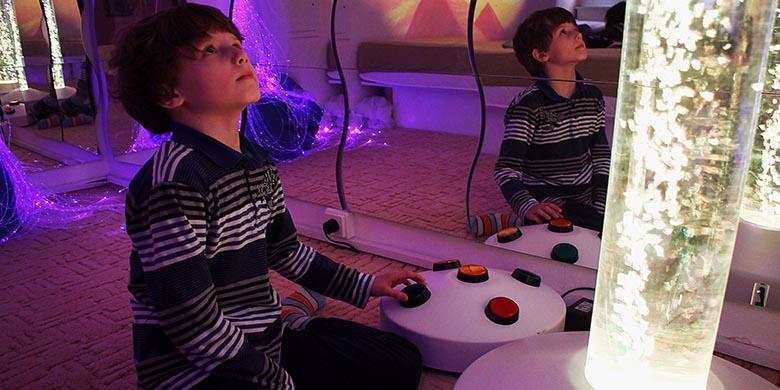 snoezelen ako prostredie vhodne pre integraciu autistickych deti
